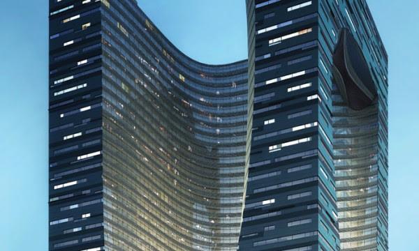 harbin shidai tower 2 600x360 14 Futuristic Building Designs in China