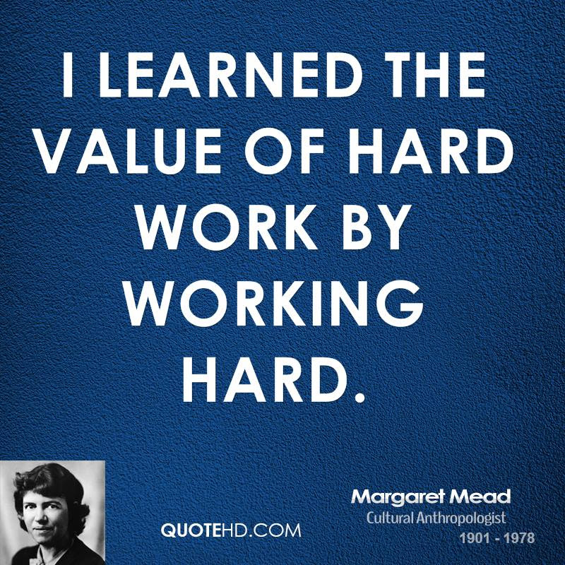 Margaret Mead Work Quotes Quotehd