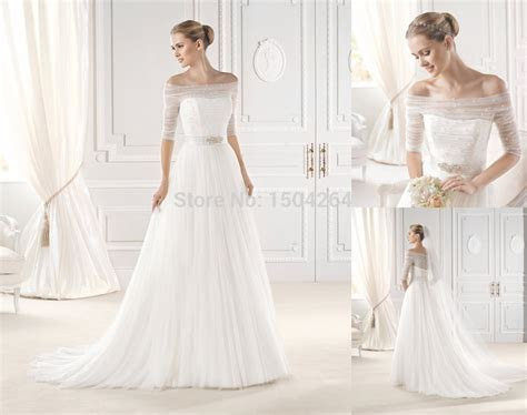 chimakadharoka2012: Wedding Dresses With Sleeves Off The