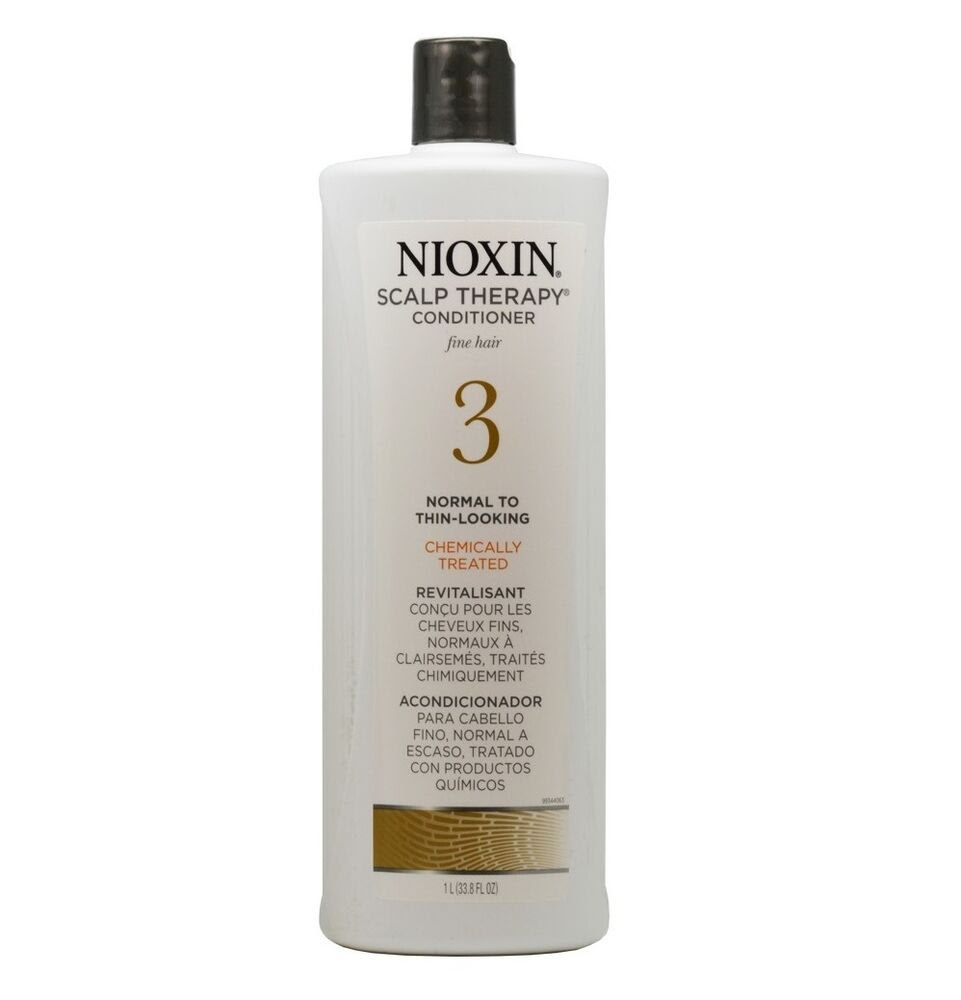 Nioxin System 3 Scalp Therapy Hair Treatment Conditioner 33.8 oz 70018007346  eBay