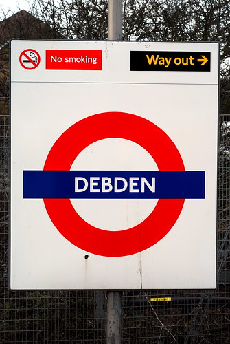 Debden Tube by Mike Knell