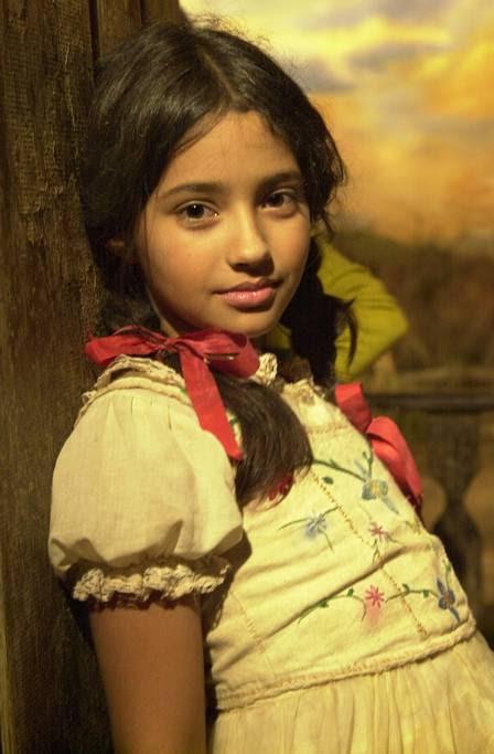"""A atriz estreou na televisão em """"Hoje é dia de Maria"""", em 2005"""