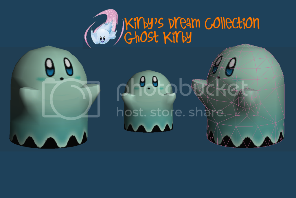 Ghost Kirby Papercraft