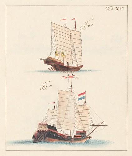 2 sailing ships