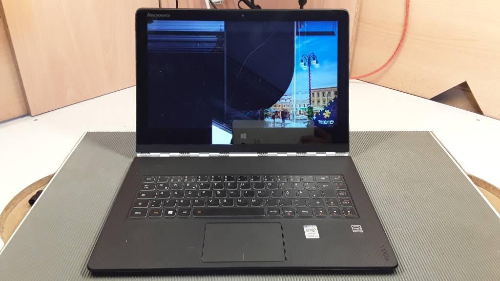 Pc Reparatur Center Lenovo Laptop Display Ist Zerbrochen Und Kaputt