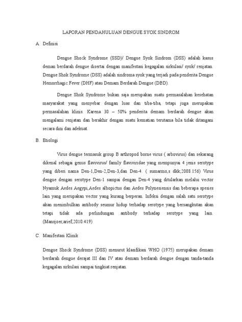 ASKEP DENGUE SYOK SINDROM PDF