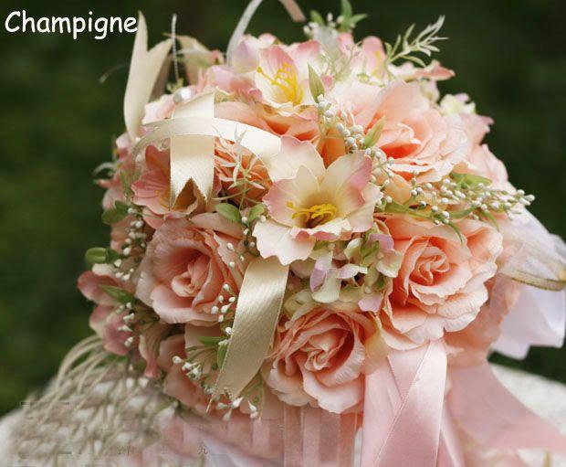 wedding silk flower bouquets