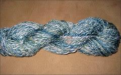 Blue Hosta yarn