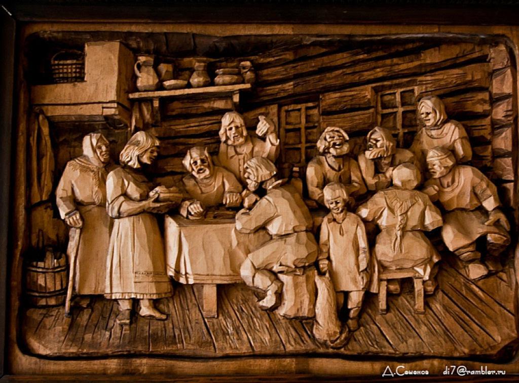 As incríveis pinturas esculpidas de Kronid Gogolev 09