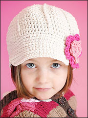 Anna Cap Pattern - Electronic Download