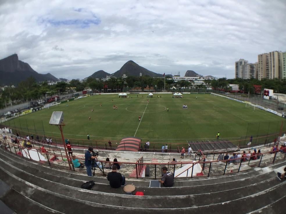 Estádio da Gávea será reformado para receber jogos da equipe profissional (Foto: Cahê Mota)