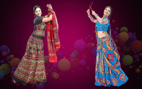 You Should Hit The Dandiya Floor With These Stunning Chaniya Cholis