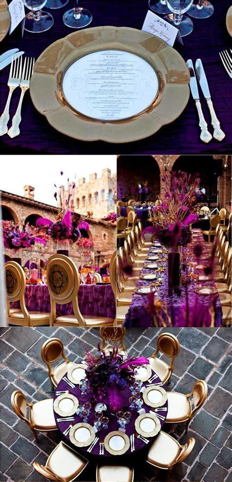 Purple and Gold Wedding Ideas   Wedding Stuff Ideas