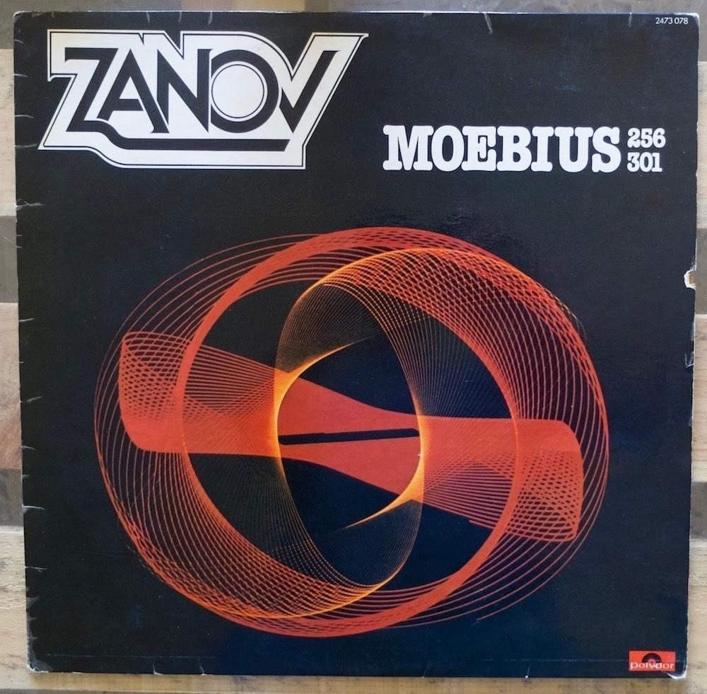 Zanov - Moebius 256301 (pochette de l'album)