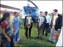 Jaffna GA meets visiting British politician