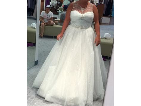 Alfred Angelo 244 (Disney Cinderella), $850 Size: 18   New