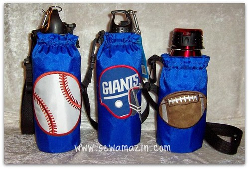 Insulated Water Bottle Carriers & Bottles