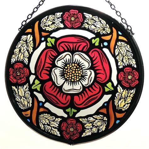 The Tudor Rose represents the joining of the two rival