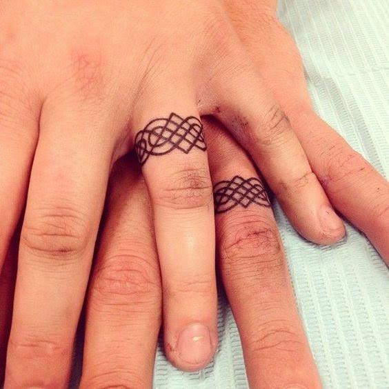 Tatuajes De Compromiso Para Parejas Di Adiós A Los Clásicos