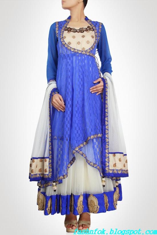 Anarkali-Gorgeous-Bridal- Wedding-Ankle-Length-Dress-by-Designer-Kiran-&-Shruti-Aksh-13