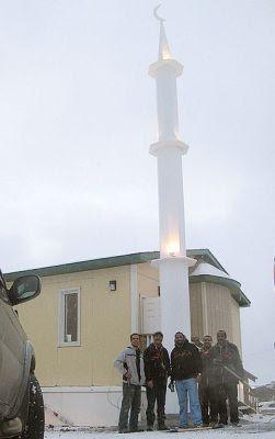 افتتاح مسجد في القطب الشمالي