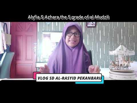 Alyfia S Azhara the 5 grade of al Mudzil