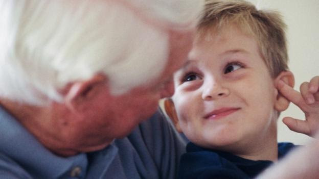 In the US, more than 5.8 million children live with grandparents. (Credit: Thinkstock)