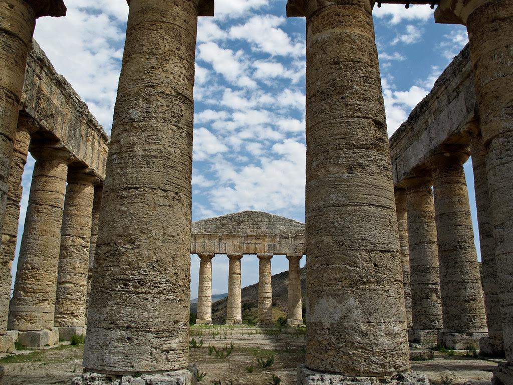 Templo griego de estilo dórico de Segesta