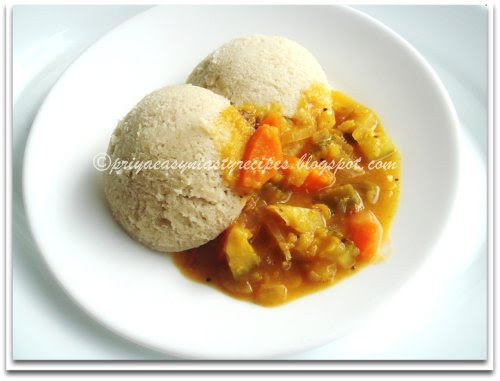 Brown rice Idli