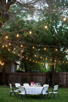 String Lights Outdoor on Pinterest