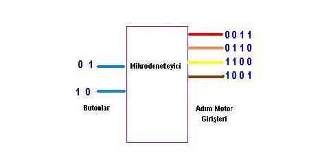 các adim_motor_giris