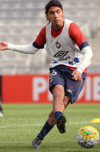 Luciano Cabral Atlético-PR (Foto: Divulgação/ Atlético-PR)