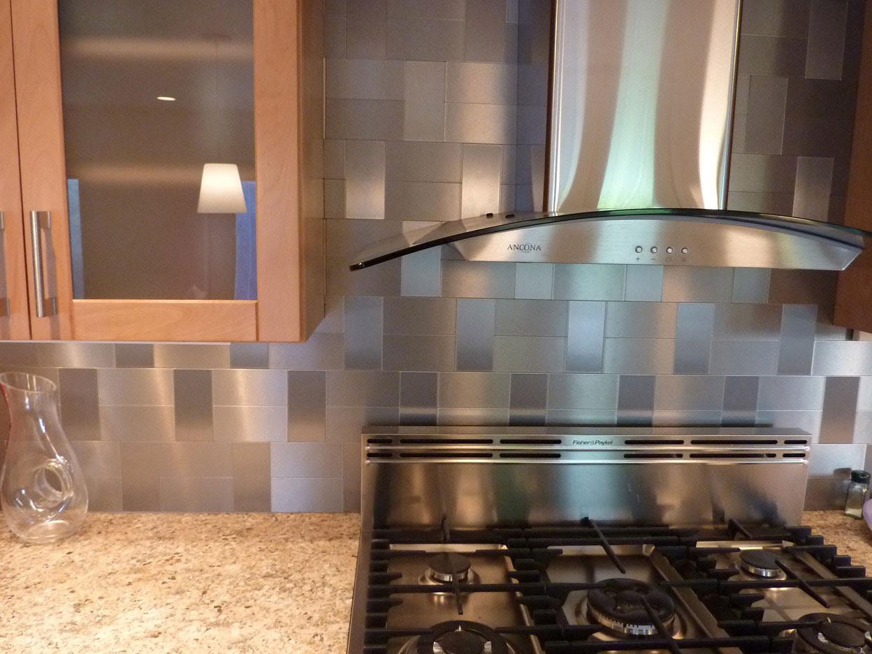 Accent Backsplash Tile Designs Small House Interior Design