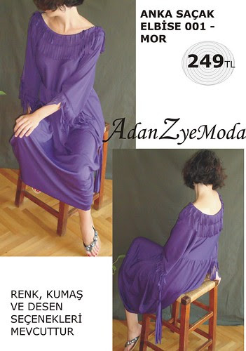 Anka Sacak Elbise 001 purple-B