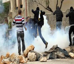 Palestinos e israelíes. Foto de Archivo
