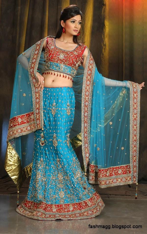Indian Bridal-Wedding Lehenga for Brides Wear-Embroidered Beautiful ...