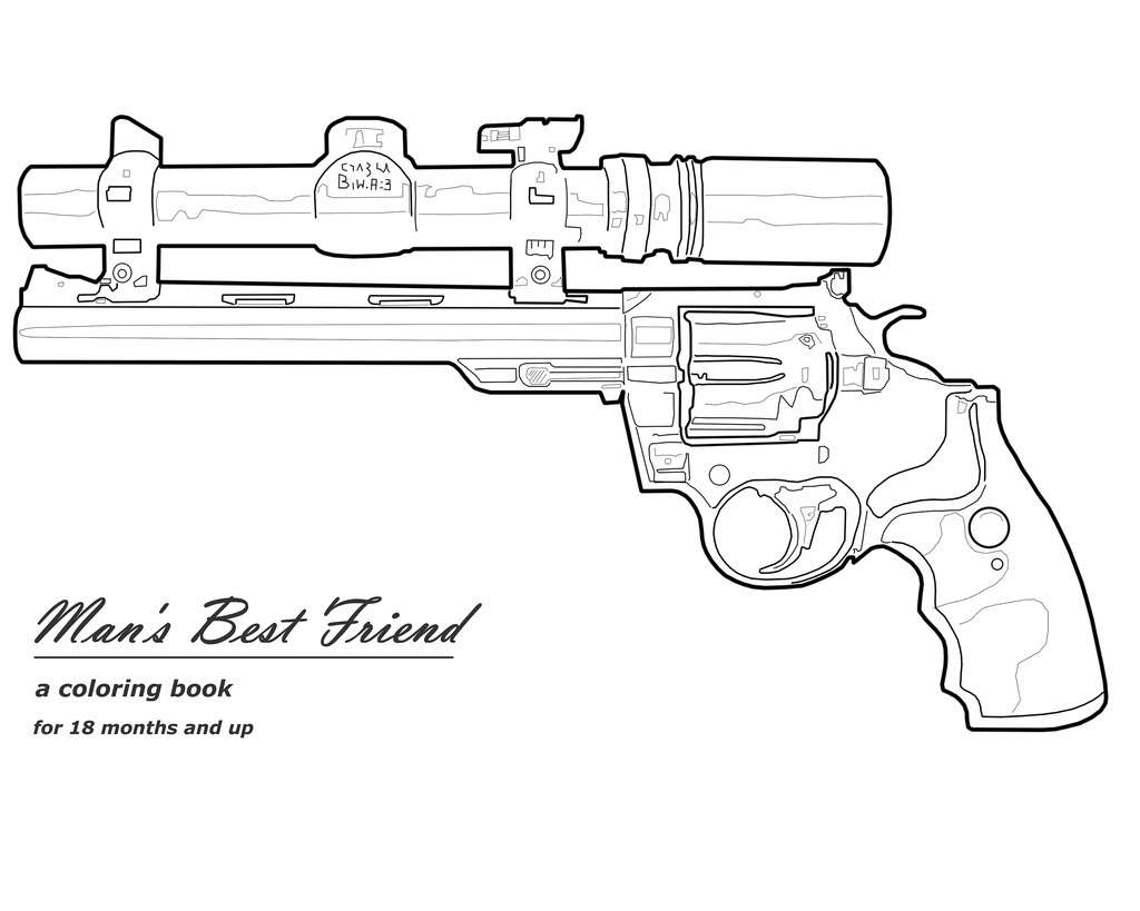 Nerf Gun Coloring Pages - Coloring Home