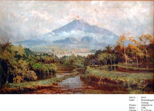 40 Lukisan Pemandangan Di Jawa Tengah Gratis Terbaik