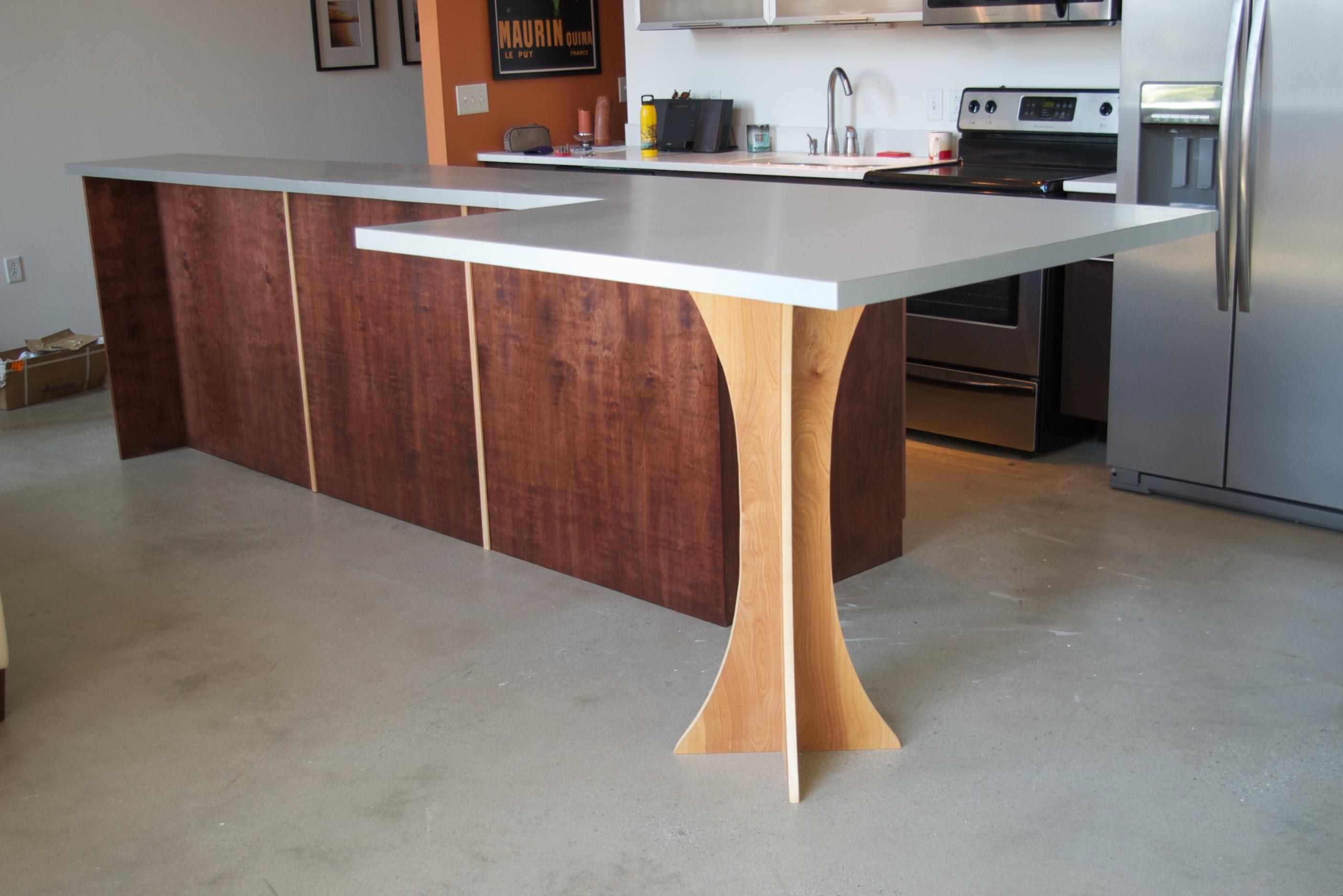 Kitchen Island Bar Table