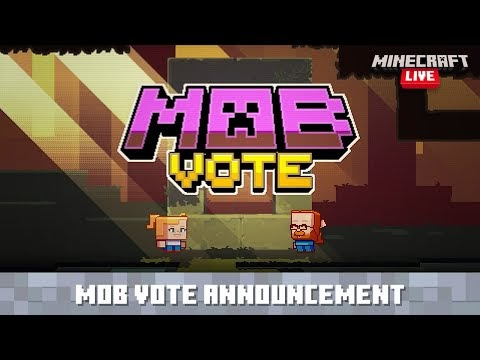 Minecraft Live: Introducing New Mobs!