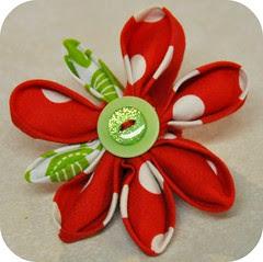 K's kanzashi flower