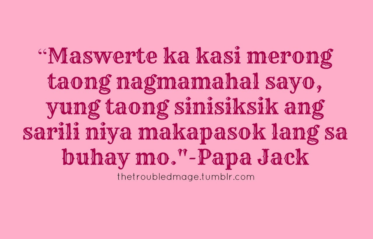 Quotes About Love Tagalog Tumblr And Life For Him Cover Tagalog