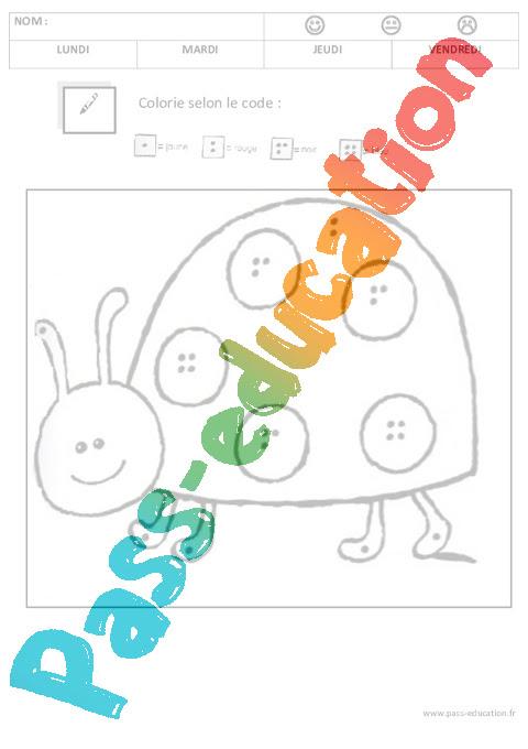 Coloriage Magique 12345 Maternelle Petite Section Moyenne