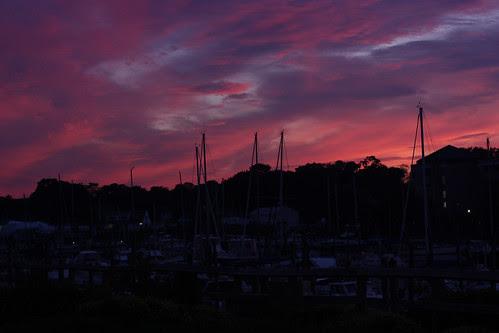 Sunset on the 4th - purple