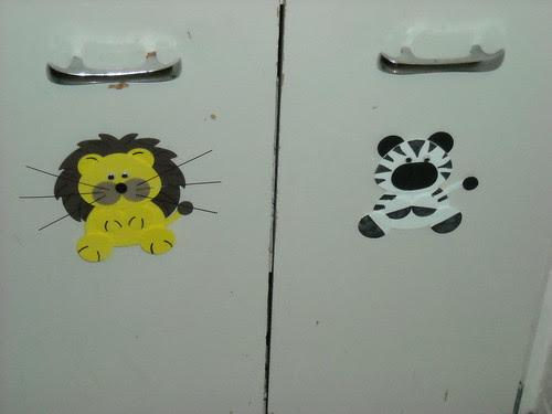 Lion and Zebra