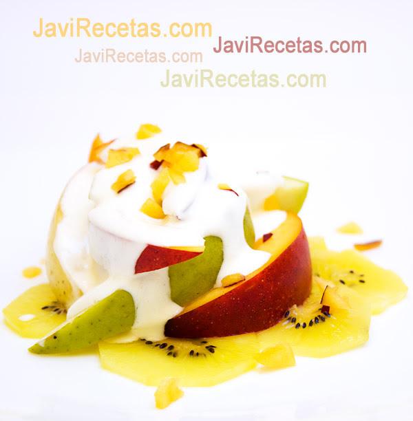 Ensalada de Queso y Frutas