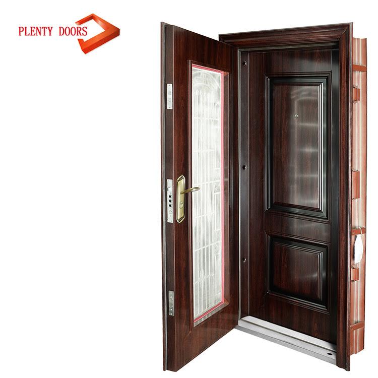 Steel Safety Door Design With Grill Buy Steel Dooriron Grill Door