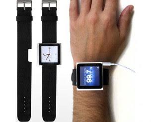 Algumas cases já fazem do iPod Nano um relógio (Foto: Reprodução) (Foto: Algumas cases já fazem do iPod Nano um relógio (Foto: Reprodução))