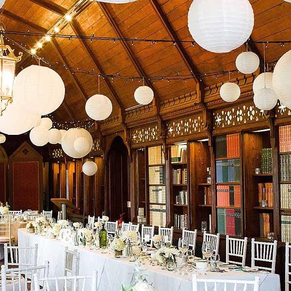 Summer Wedding Decoration Ideas White Paper Lanterns Uk Wedding