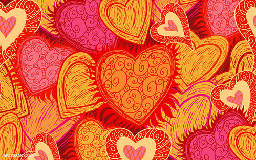 Hearts-background-for-valentine's-day